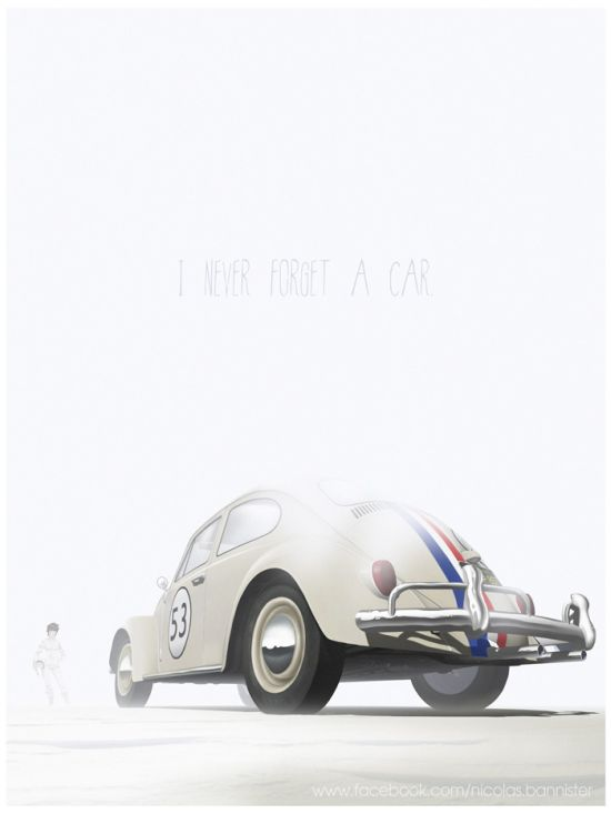 Artist Pays Tribute To The Most Iconic Cars From Pop Culture