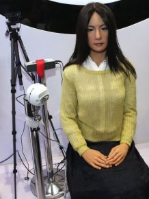 This Creepy Female Android From China Is So Lifelike It's Scary