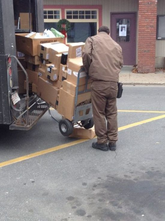 Delivery Guys Who Clearly Just Don't Care Anymore
