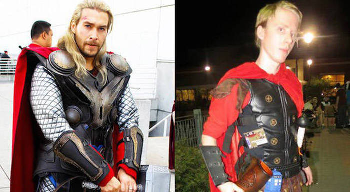 The Best And Worst Cosplay Costumes Ever Made Side By Side