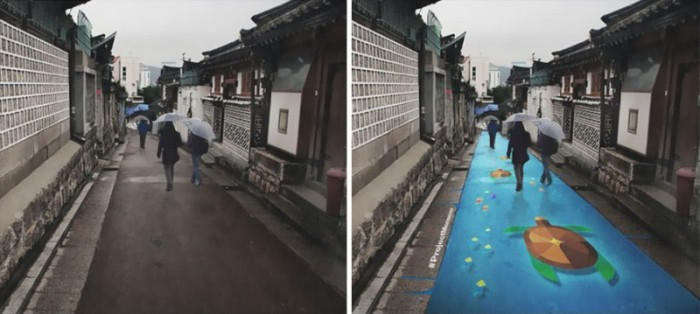 This Street In South Korea Is Perfect For A Gloomy Day