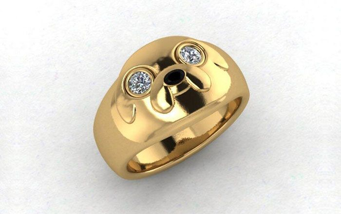 Girls Just Can't Refuse These Geeky Engagement Rings