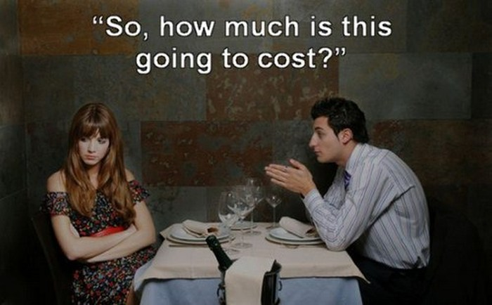 Things You Can Say To Completely Ruin A First Date