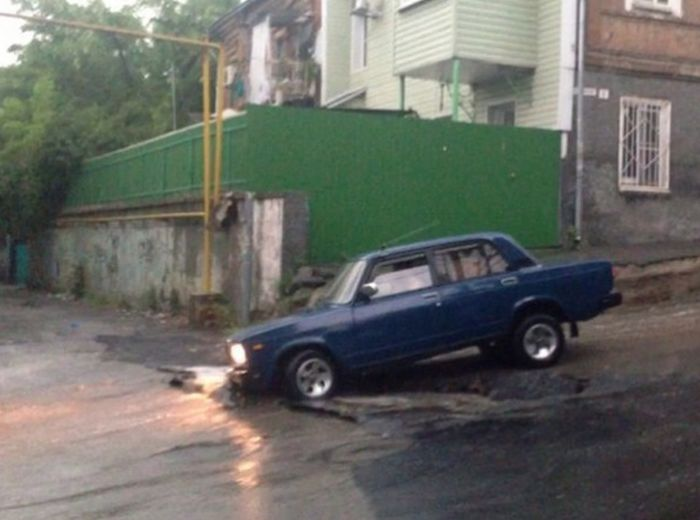 Things You Will Only See On The Roads Of Russia