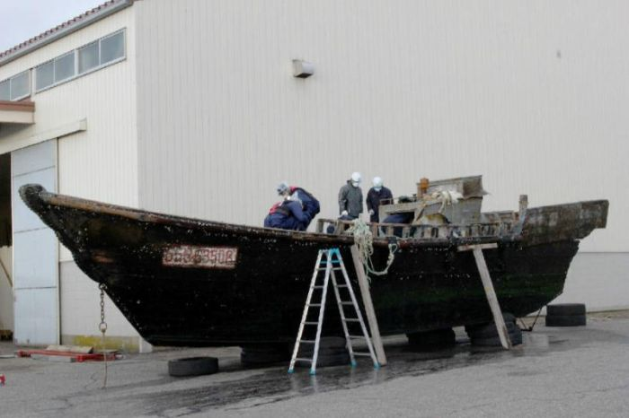 North Korean Ghost Ships Continue To Surface On The Shores Of Japan