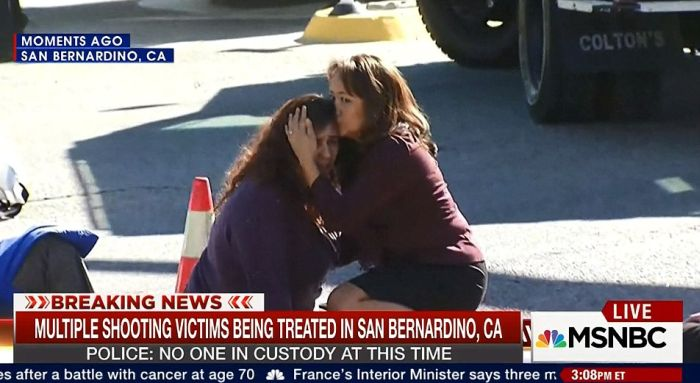 14 People Killed During A Mass Shooting At A Holiday Party In California