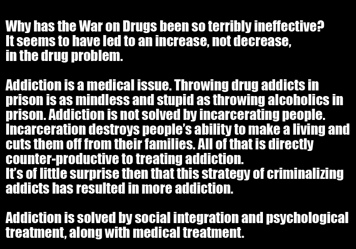 The Truth About Why The War On Drugs Will Never Be Won