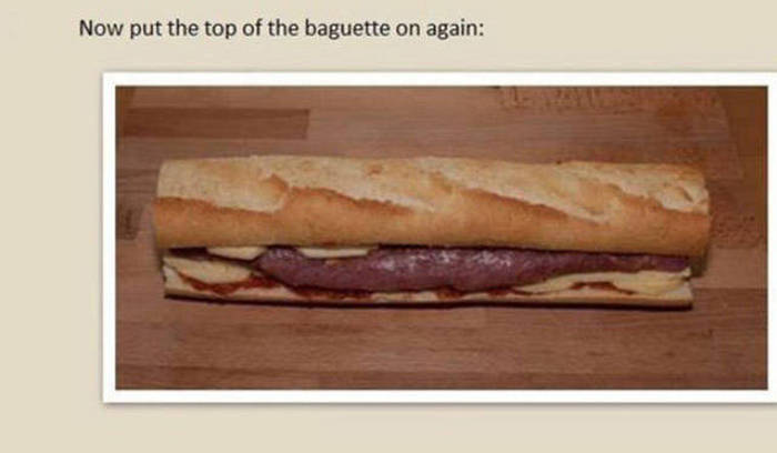 How To Make A Homemade Pork Baguette Wrapped In Bacon