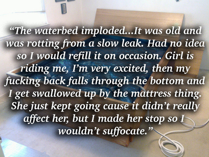 People Share Awkward Situations That Made Them Stop Having Sex