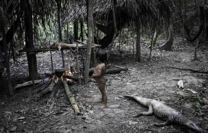 This Rare Amazonian Tribe Lives Among The Animals