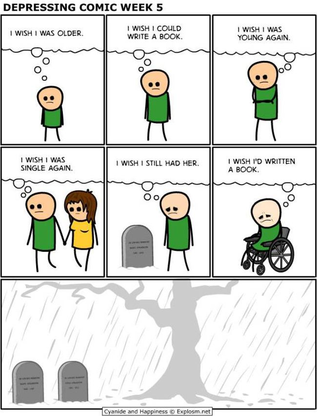 Depressing Comics That Will Make You Want To Curl Up And Cry