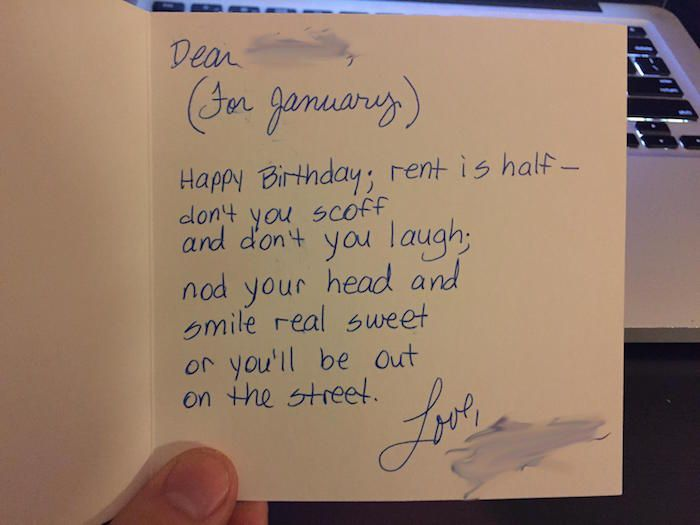 Hilarious And Creepy Notes Landlords Left For Their Tenants