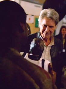 John Boyega Got Harrison Ford To Sign His Han Solo Action Figure