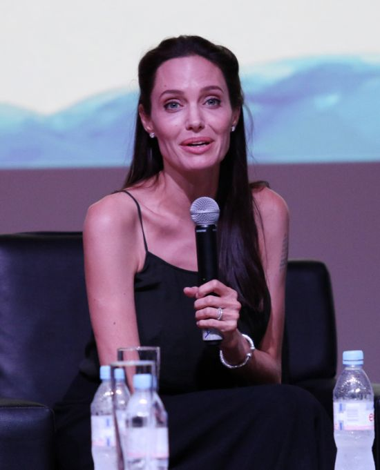 Angelina Jolie Joins The Committee At The Cambodian International Film Festival