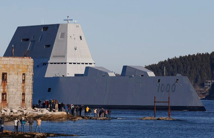 The US Navy's Newest Stealth Destroyer Is Their Largest Ever