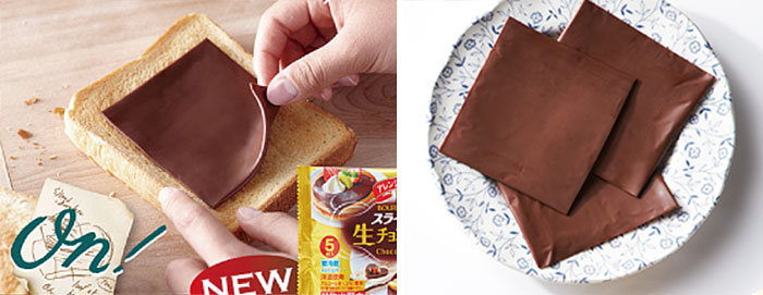 You Can Now Add Sliced Chocolate To Your Sandwiches