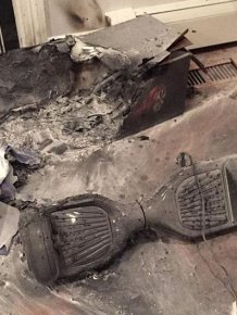 Another Hoverboard Has Exploded And Destroyed A Family's Home