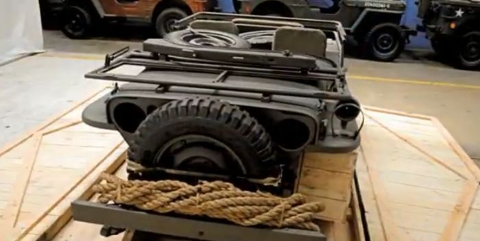 These People Found A Jeep In A Crate