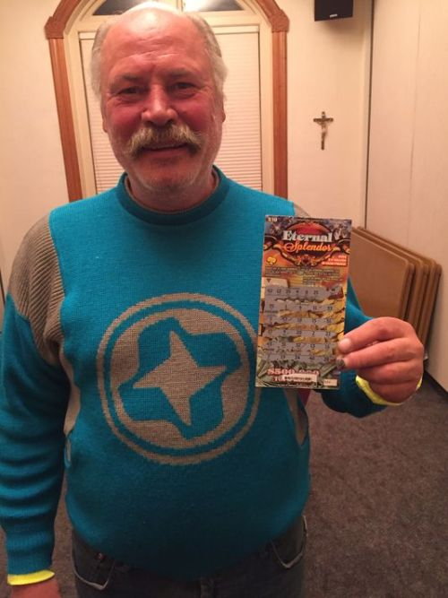Homeless Man Wins Big Jackpot After Buying A $10 Scratch Ticket