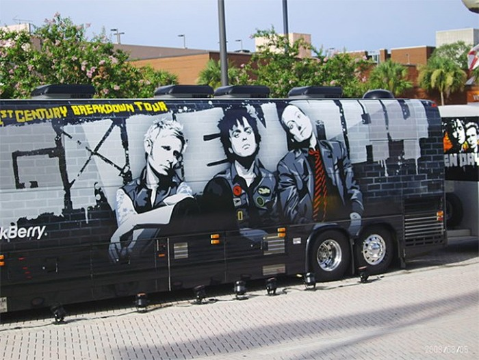 See How The World's Most Famous Rock Stars Get From Place To Place