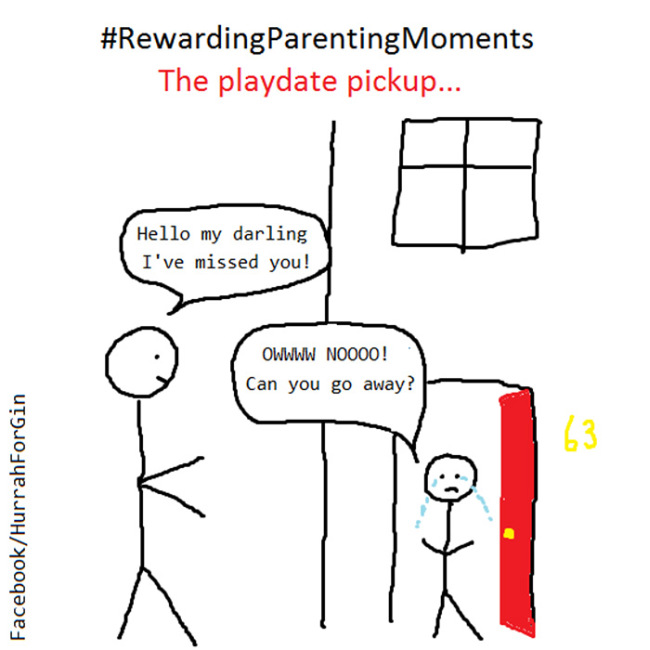 Mom Shares Her Parenting Problems With The World Through Honest Cartoons