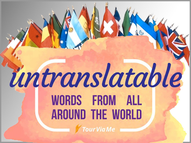 Words From Around The World That Don't Have English Equivalents
