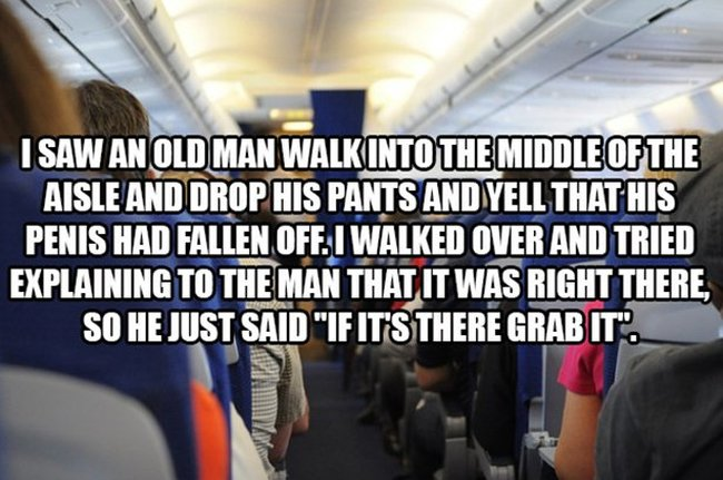Flight Attendants Reveal The Craziest Things They've Ever Seen On A Plane