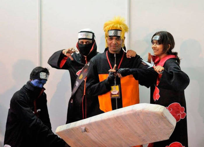 Awesome Photos From Inside The 2015 Delhi Comic Con In India