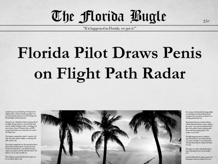 The 25 Most Bizarre News Headlines From Florida In 2015, part 2015