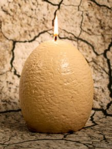 Now You Can Buy A Dinosaur Egg Candle That Hatches As It Melts