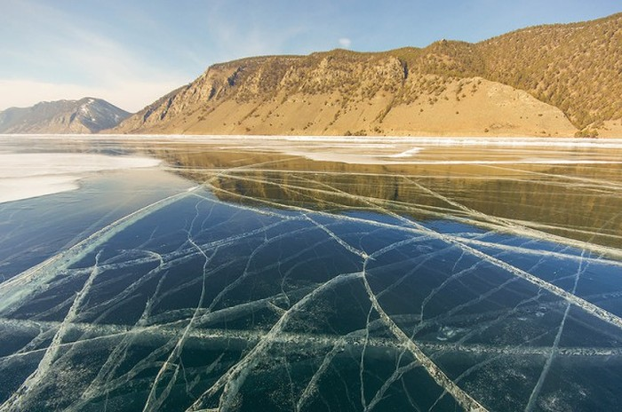 Lake Baikal Is Beautiful This Time Of Year