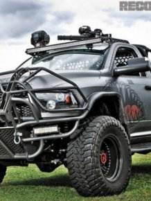 If A Zombie Apocalypse Ever Happens This Truck Would Be Perfect For It