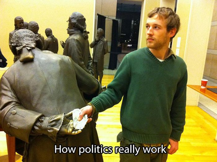 Brutally Honest Pictures That Tell The Truth About Politics