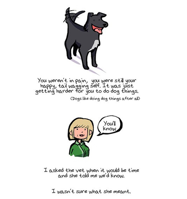These Heartwarming Drawings Will Take You Through A Dog's Entire Life