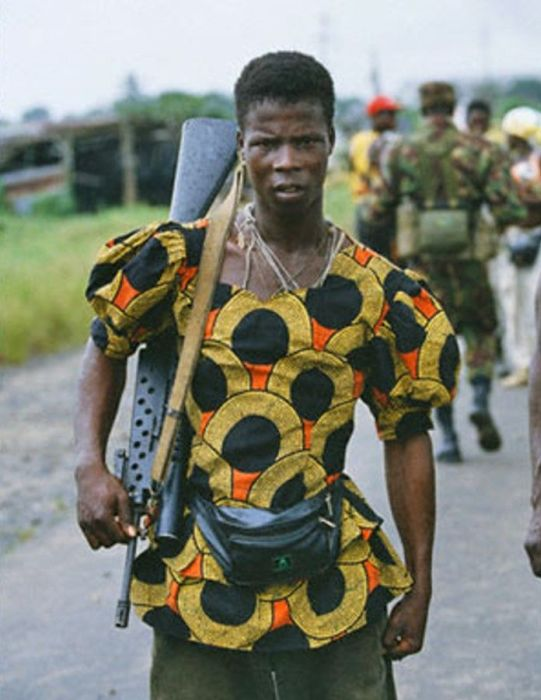 On The Ground With African Militias