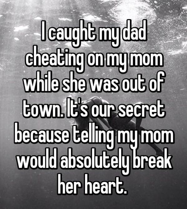 Heartbreaking Stories From Kids Who Caught Their Parents Cheating