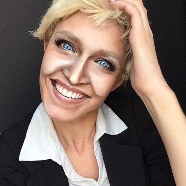 Artist Uses Makeup To Transform Herself Into 100 Different Celebrities