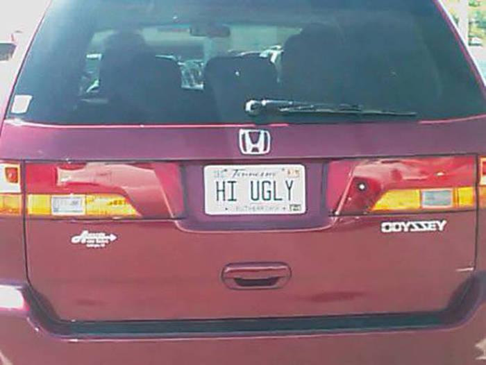 Witty License Plates That You Can't Help But Laugh At