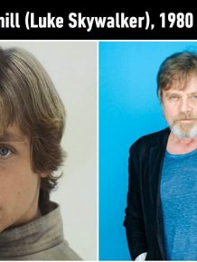 Iconic Star Wars Characters Back In The Day And Today