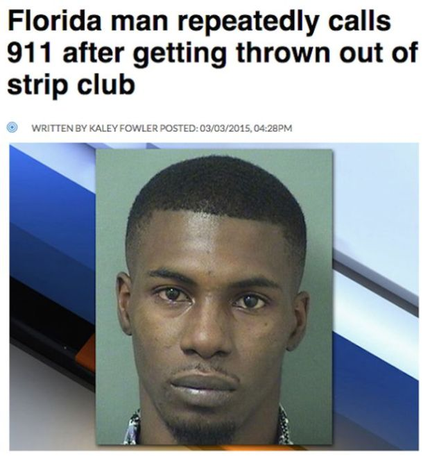 Florida Man Continues To Make Headlines Thanks To Ridiculous Crimes