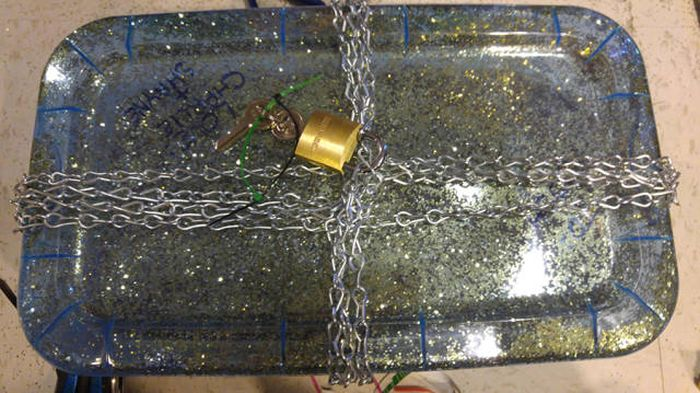 Guy Takes Holiday Gift Wrapping To The Extreme