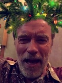 Arnold Schwarzenegger Wants You To Have A Merry Christmas