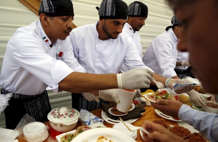 Inmates Celebrate Christmas In A Peruvian Prison