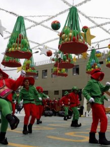 Inmates Celebrate Christmas In A Peruvian Prison