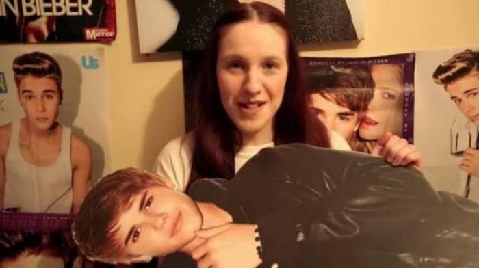 Meet The Fan That's Taking Her Justin Bieber Obsession Way Too Far