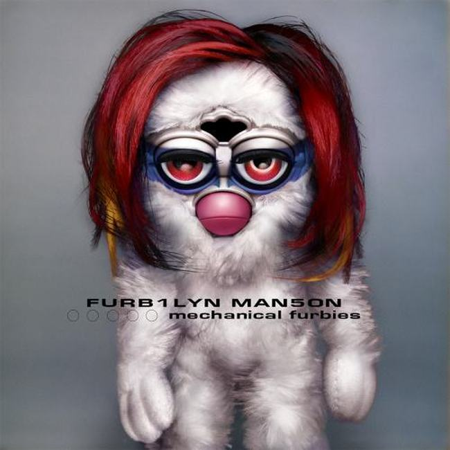 Popular Album Covers Made Instantly Terrifying By The Addition Of Furbies