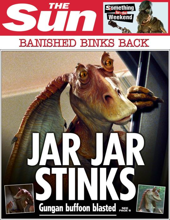 The Sun Is Publishing Fake Star Wars News Headlines