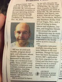 There's Something Really Strange About This Obituary