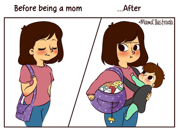 Funny Comics That Totally Tackle The Problems That Come With Being A Mom