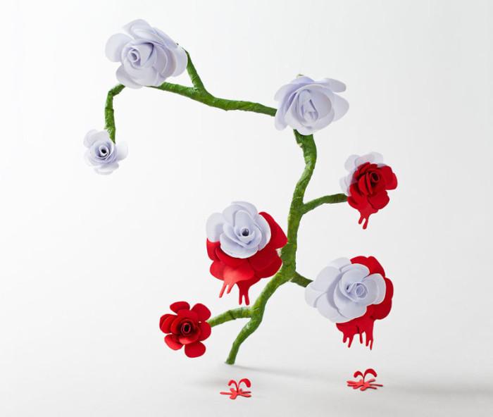 Artist Recreates Alice In Wonderland Using Carefully Crafted Paper